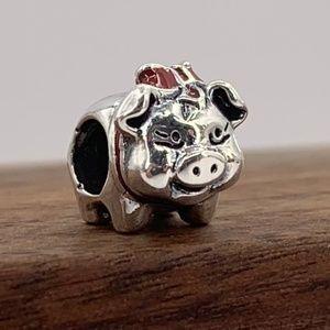 Pandora Piggy Bank Charm #791809ENMX
